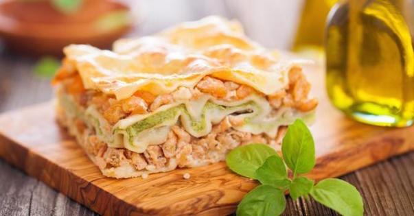 Lasagnes Minceur Saumon-Courgettes