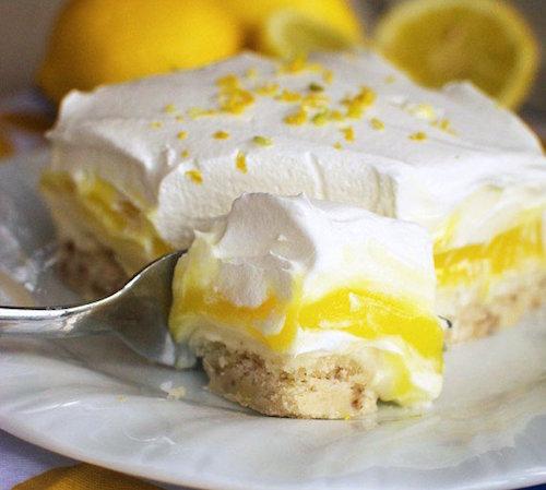 Lasagnes Sucrées au Citron et au Mascarpone 1