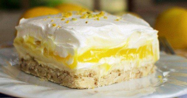 Lasagnes Sucrées au Citron et au Mascarpone