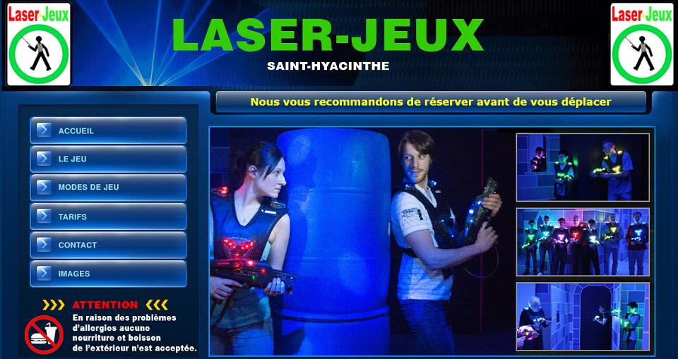 Laser-Jeux Saint-Hyacinthe en Ligne