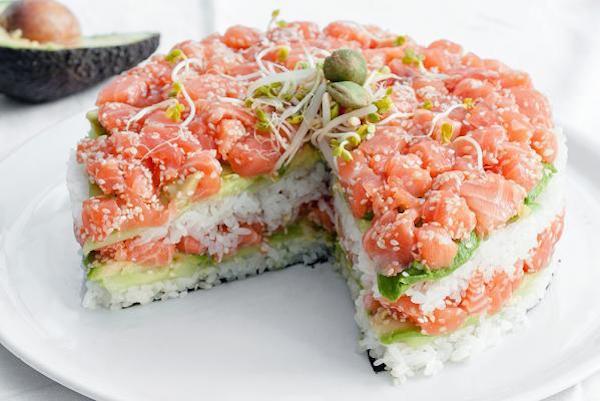 Recette: Le Gâteau aux Sushis