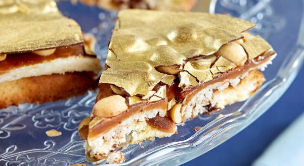 Le Gâteau Reine Elisabeth Caramel et Cacahuètes de Cyril