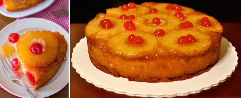 Le Gâteau Renversé à L'ananas
