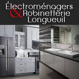 Logo Électroménagers Longueuil - Robinetterie Liquidation