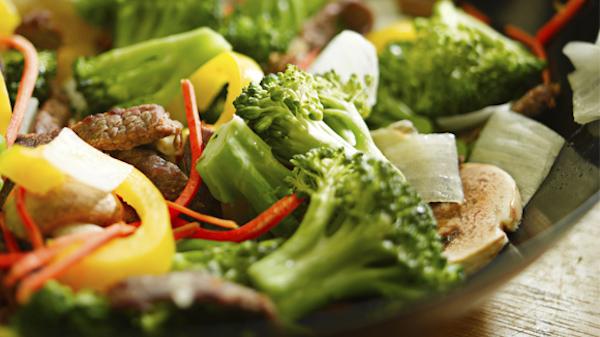 Légumes au Beurre D'agrumes