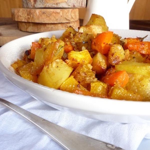 Légumes D'automne Rôtis sans Gluten