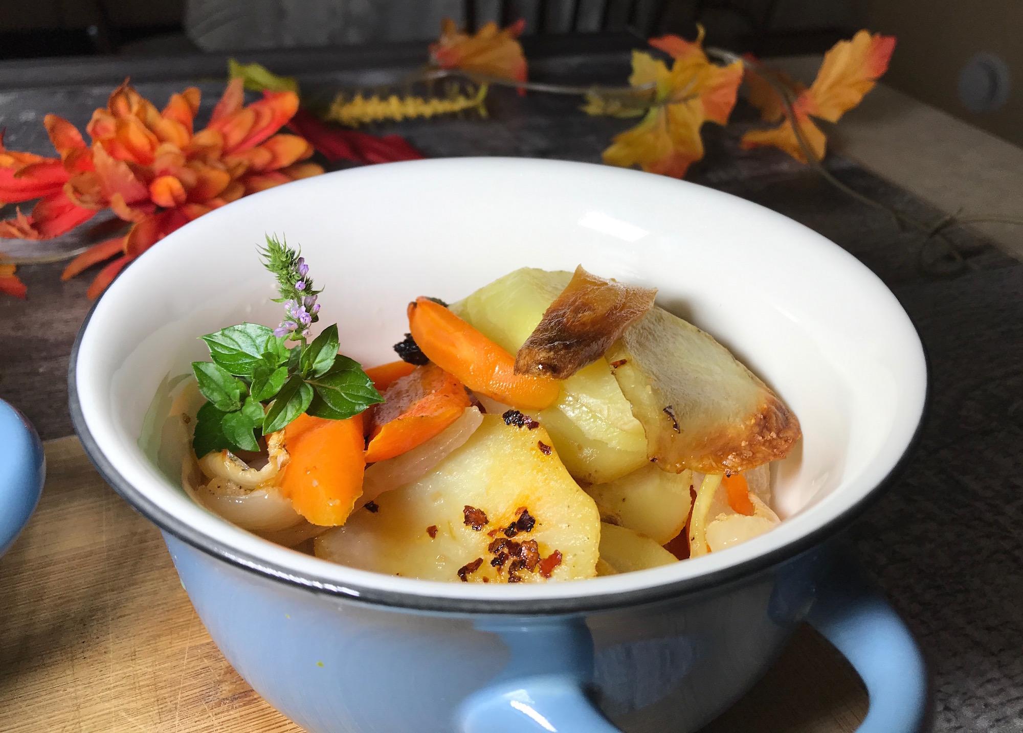 Légumes Épicés Cuit au Four
