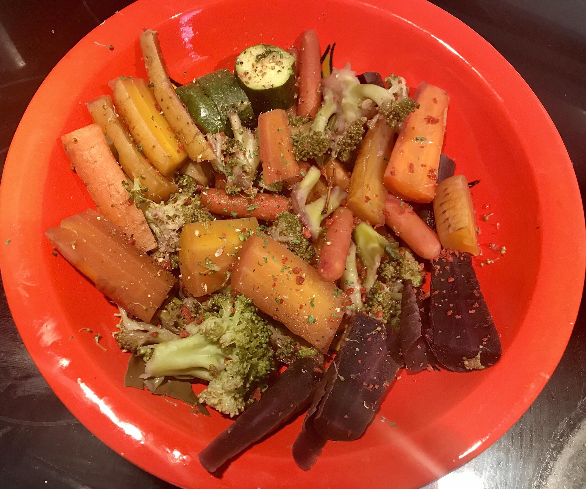 Photo Recette Légumes Frais avec L'huile d'olive
