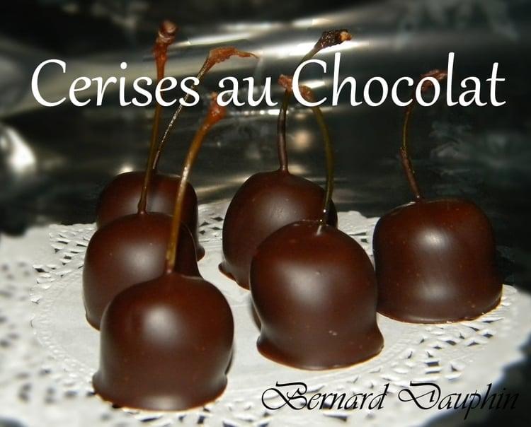 Photo Recette Les Cerises au Chocolat
