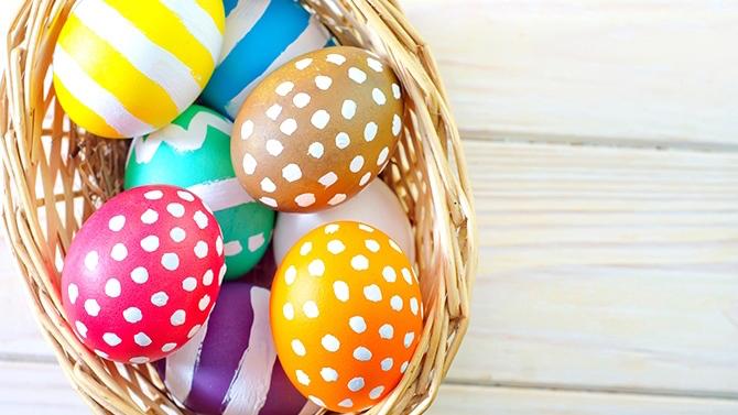 Les Oeufs de Pâques Réinventés de 4 Façons