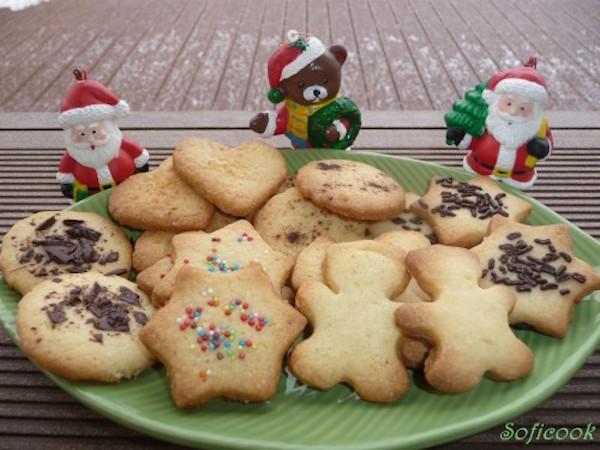Les Petits Sablés de Noel au Pain D'épices