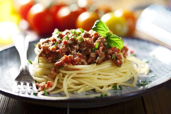 Les spaghettis a la bolognaise
