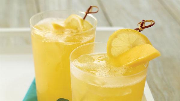 Limonade Pétillante à la Mangue