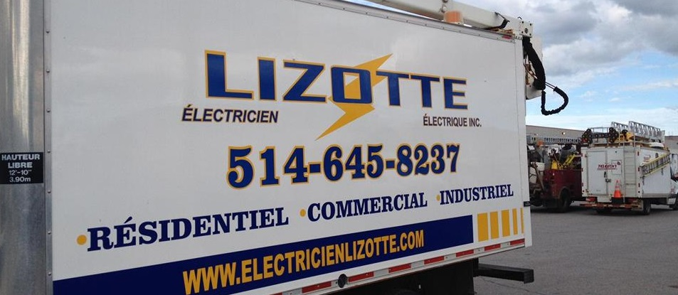Lizotte Électricien en Ligne