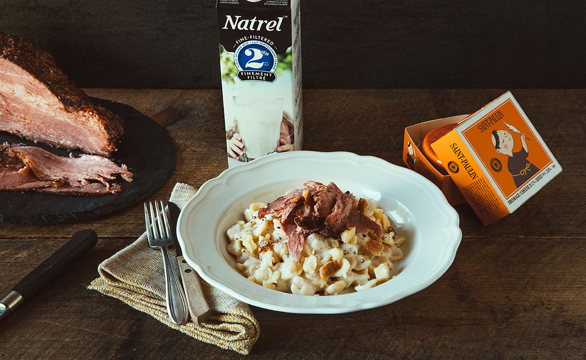 Macaroni au Fromage et Smoked Meat