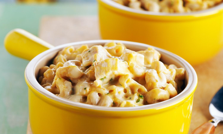 Macaroni au Poulet et au Fromage