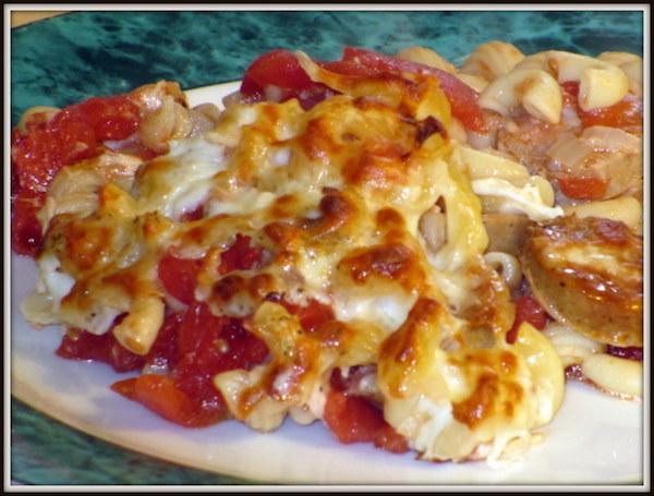 Photo Recette Macaronis aux Tomates et aux Saucisses Italiennes