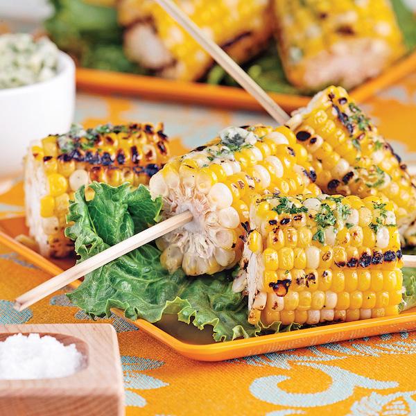 Maïs Grillés sur Brochettes