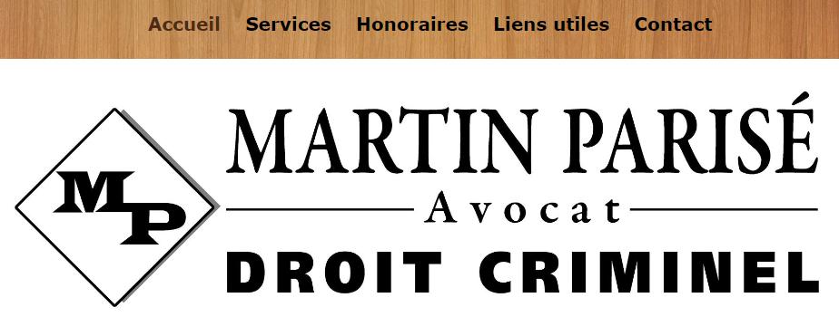 Martin Parisé Avocat en Ligne