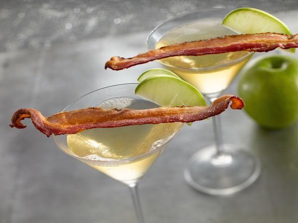 Martini aux Pommes et Bacon