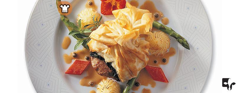 Photo Recette Médaillons Surprises de Veau de Grain du Québec au Brie Double Crème
