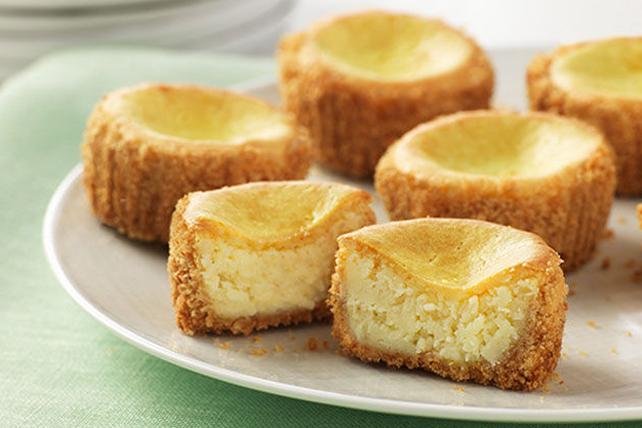 Mini-gâteaux au Fromage et au Citron