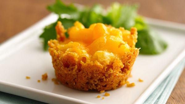 Mini-Gâteaux de Macaroni au Fromage (sans gluten)