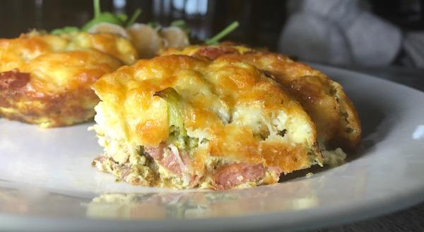 Mini-Omelette au Brocoli Bacon et Saucisse 5