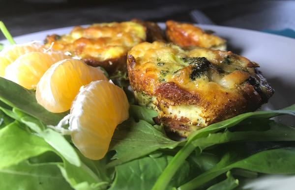 Mini-Omelette au Brocoli Bacon et Saucisse 6