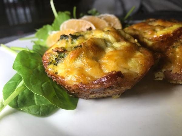 Mini-Omelette au Brocoli Bacon et Saucisse 9