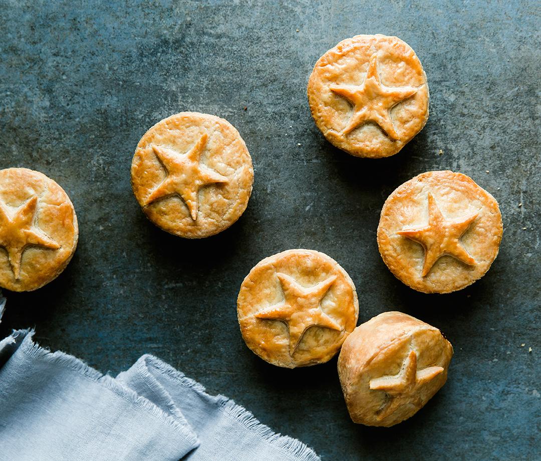 Photo Recette Mini-tourtières dans un Moule à Muffins