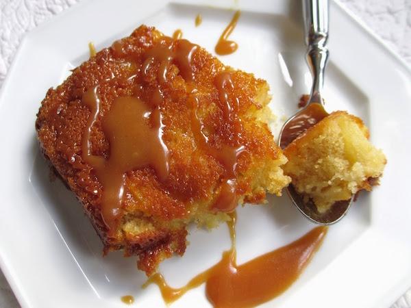 Photo Recette Moelleux aux Pommes aux Caramel Beurre Salé