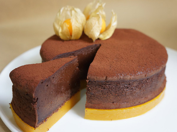 Photo Recette Moelleux Chocolat Intense Mangue
