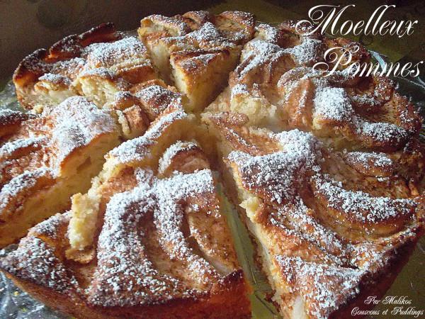 Photo Recette Moelleux Pommes – Cannelle
