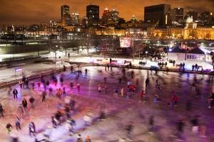 Activités de Noël Extérieures à Montréal