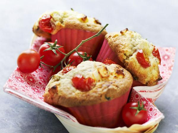 Photo Recette Muffin aux Tomates Cerises