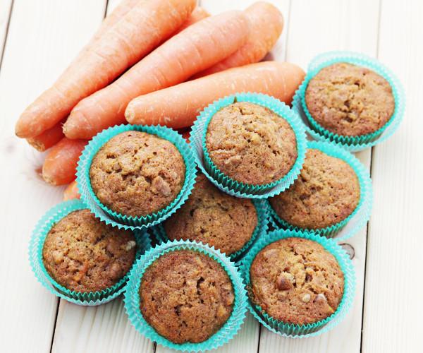 Muffins à la Carotte avec ou Sans Gluten