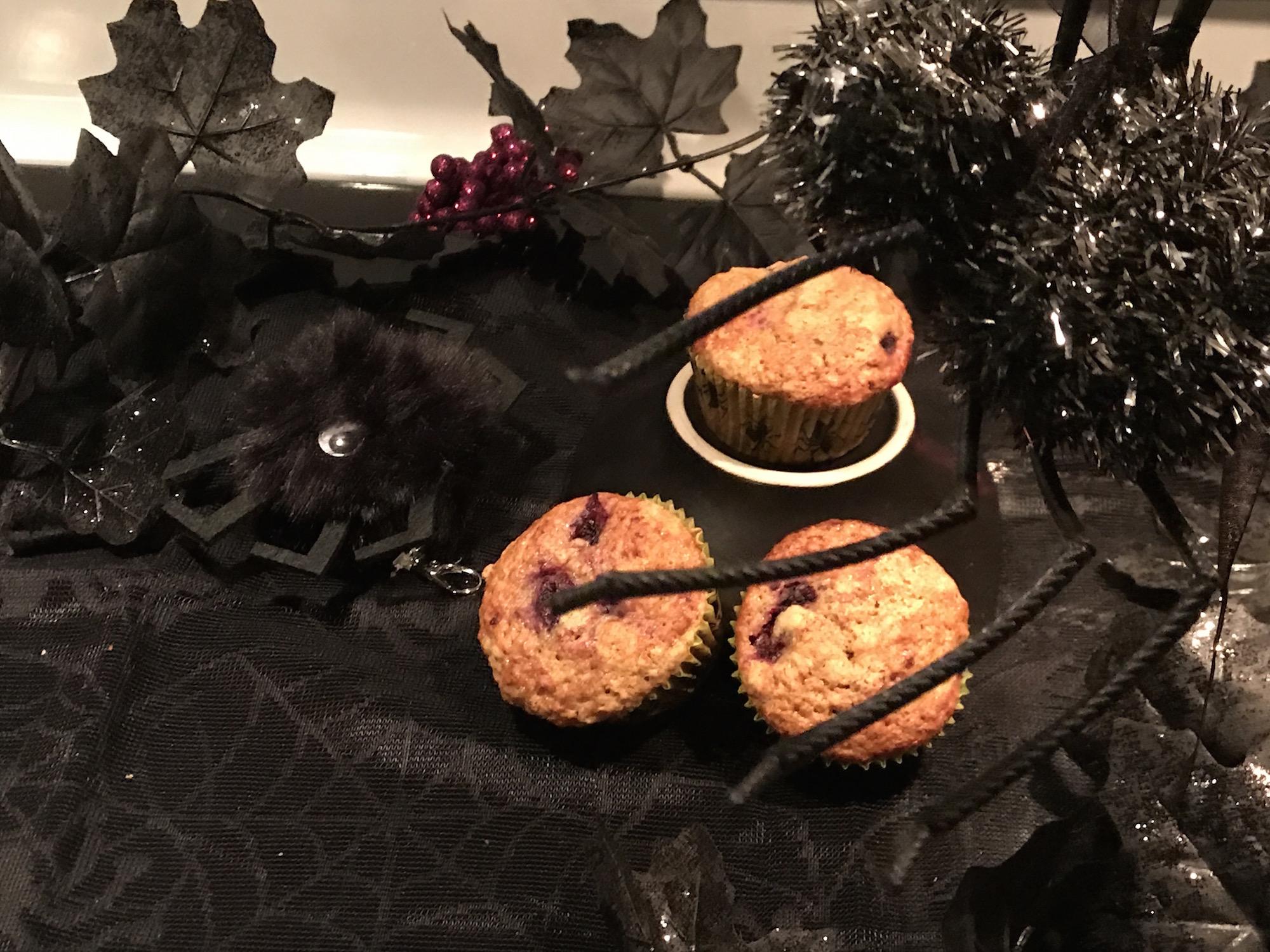 Photo Recette Muffins à la Citrouille et aux Mûres