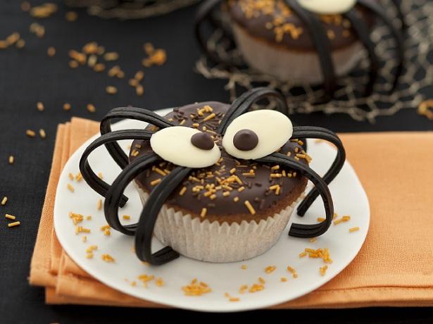 Muffins Araignée D'Halloween