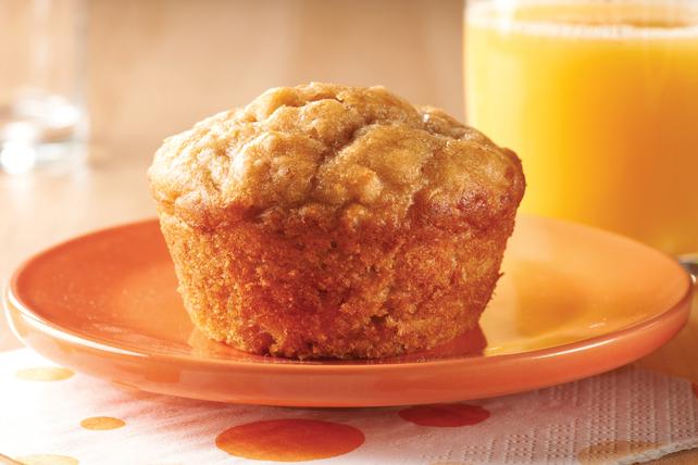 Muffins au Beurre D'arachide et à la Banane