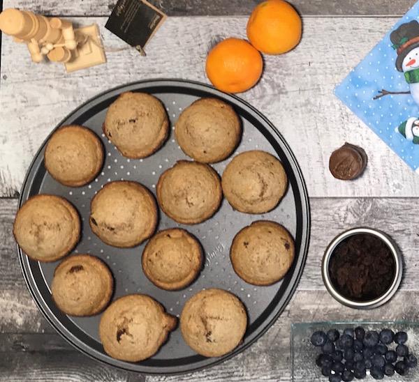 Muffins au Son D'avoine et Raisins Secs 3