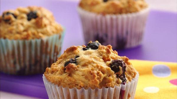 Muffins au Son et au Yogourt
