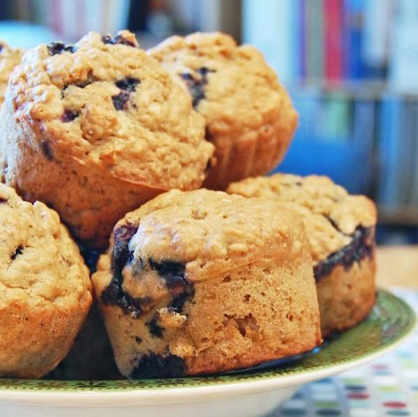 Muffins aux Bleuets et au Citron