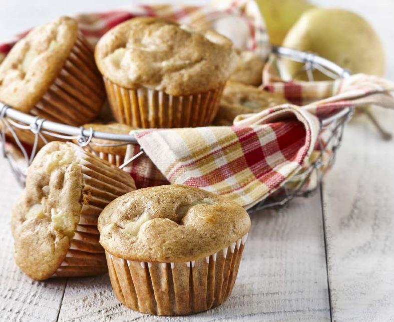 Muffins aux Poires Épicés
