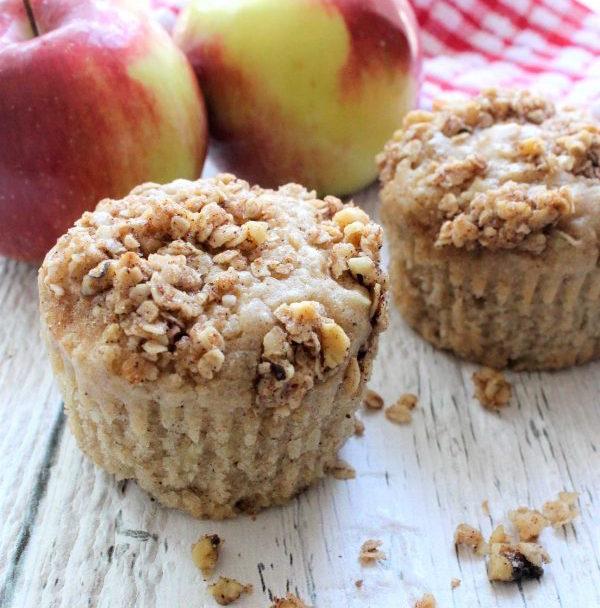 Muffins Façon Croustade aux Pommes
