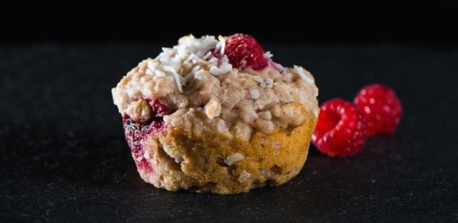 Muffins Framboises et Noix de Coco