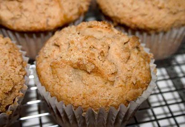 Photo Recette Muffins aux Pommes