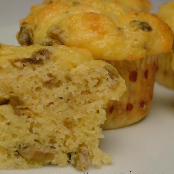Muffins Salés aux Olives Sans Gluten
