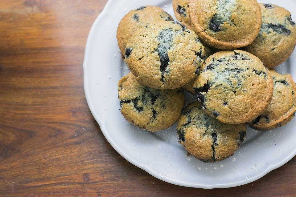 Muffins Santé aux Bleuets