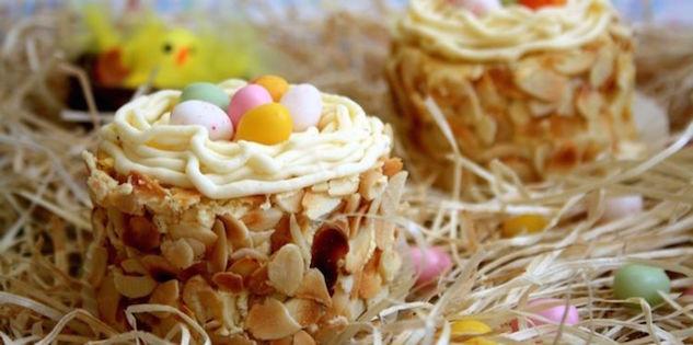 Nids de Pâques à la Vanille